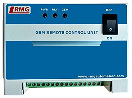 RMG Gsm Based Mobile Starter For Motor Pumps Through Sms/Call/Android App