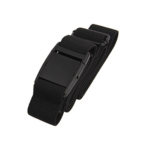 Gelante Women Invisible Belt - Elastic Adjustable Slimming No Show - Black 14 - Belt Elastic