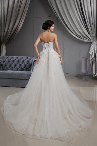 maniche Abito Donna Winey da Bianco Senza Bridal sposa pxTw1Xq7RT
