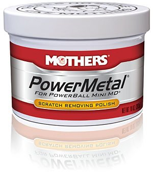 Mothers 05150 Power metal Scratch Removing Polish, 10 oz., 1 Pack