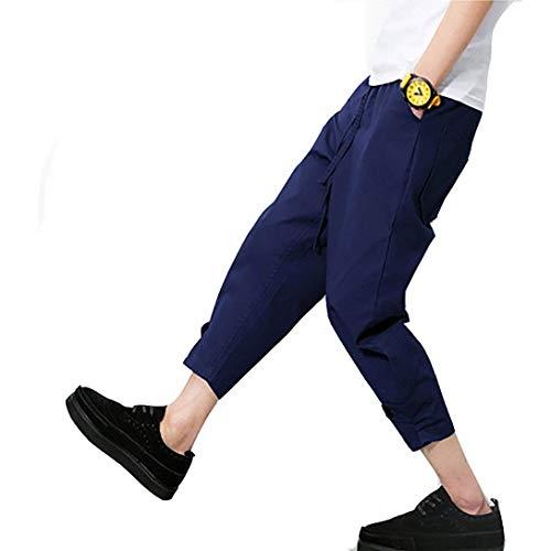 Qk Sportivi Blau Airy Casual Ragazzo In Pantaloncini Jogging Estivi Cotone lannister Da Navy Uomo Pantaloni Larghi rBaqZrvO0
