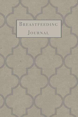 Breast Milk Storage Guide - Breastfeeding Journal: Damask Pattern Newborn Baby Feeding and Diaper Tracker with Dot Grid Journaling Pages