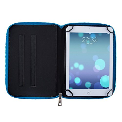 Casezilla Sanei G785 3G Tablet 360 Rotating Universal EVA Hard Shell Folio Case - Cute Blue at Electronic-Readers.com