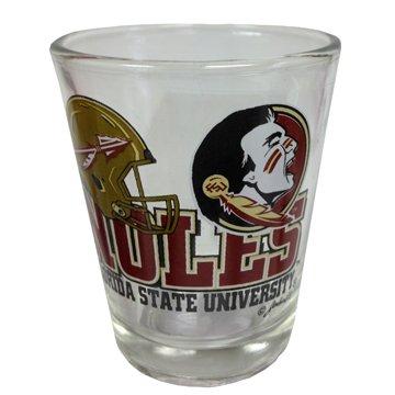 Noles Football - Souvenir Shot Glass FL College Football - NOLES FSU