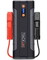 TACKLIFE T8 MAX Auto Starthilfe - 1000A Spitze 20000mAh Jump Starter, 12V Tragbare Autobatterie Anla