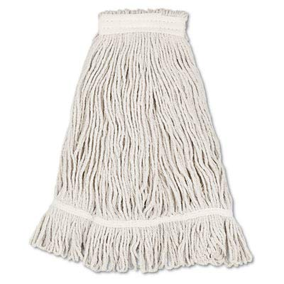 Boardwalk BWK4032C Mop Head, Loop Web/Tailband, Value Standard, Cotton, No. 32, White (Case of 12)