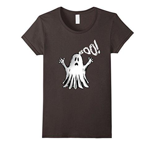 Womens Boo Halloween 2017 Ghost T-Shirt XL (Homemade Halloween Ghost Decorations)