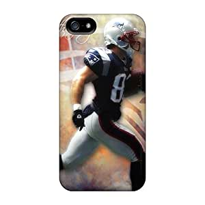Premium CaBISFG4663EDfxJ Case With Scratch-resistant/ New England Patriots Case Cover For Iphone 5/5s