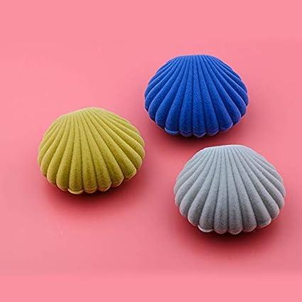 5.5/* 6.5/cm 5.5cm*6.5cm Rose Kentop bo/îte /à Bijoux dans exquise Forme de Coquillage bo/îte de Stockage pour Cadeau de Bijouterie