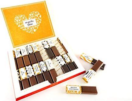 SURPRISA Aufkleberset für Merci-Schokolade: Das persönliche Dankeschön und kreative Geschenk für Ihren Schatz
