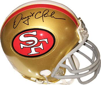 Dwight Clark Autographed Signed San Francisco 49ers Riddell TB Mini Helmet- JSA Authentic ()