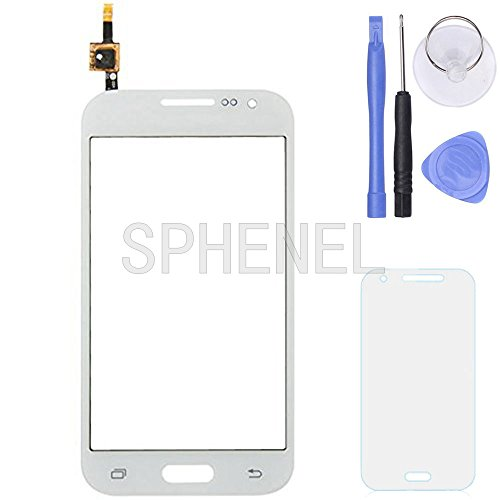 SPHENEL Digitizer Touch Screen for Samsung Galaxy Core Prime G360 G360P G360V G360T G360F G361 (Digitizer Only-White)