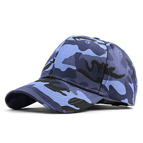 Mbtaua Summer Outdoor Camouflage Cool Caps Trucker Cap Plain Baseball Visor Cap Dad Hat