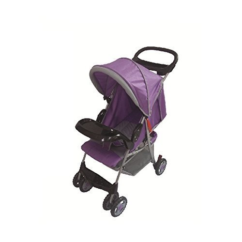 Amoroso Convenient Baby Stroller, Purple by Amoroso