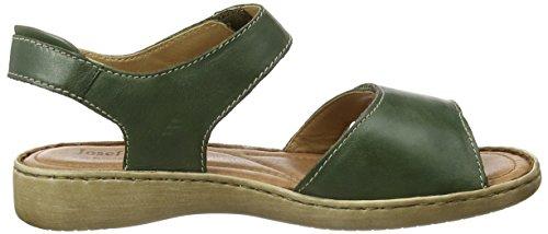 Josef Seibel  Lisa 01, Sandales pour femme vert Green (Green) 39.5