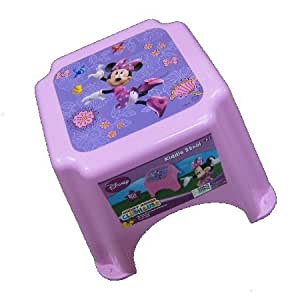 Kids only disney mickey mouse clubhouse minnie mouse kiddie stool kitchen dining - Mickey mouse stool ...