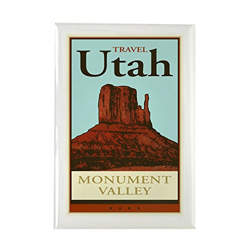 CafePress - Travel Utah - Rectangle Magnet, 2