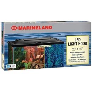 Marineland LED Light Hood for Aquariums, Day & Night Light 2