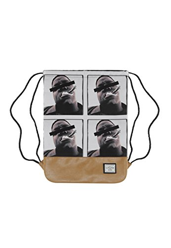 Cayler & Sons Gymbag BEDSTUY Black Mc Brown
