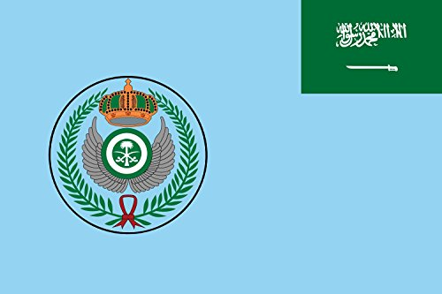 (magFlags Large Flag Royal Saudi Air Force | Landscape Flag | 1.35m² | 14.5sqft | 90x150cm | 3x5ft - 100% Made in Germany - Long Lasting Outdoor Flag)