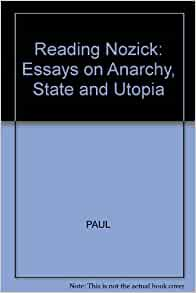 ANARCHY UTOPIA STATE AND