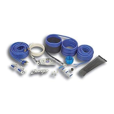 Stinger SK6681 8-Gauge 6000-Series Complete Amplifier Installation Kit: Car Electronics