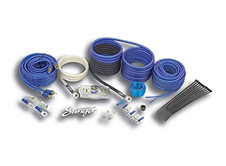 Stinger SK6681 8-Gauge 6000-Series Complete Amplifier Installation Kit STIY7