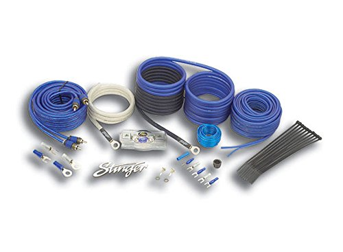 (Stinger SK6681 8-Gauge 6000-Series Complete Amplifier Installation Kit)