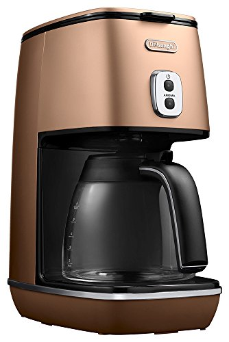 Distinta collection Drip coffee maker ICMI011J-CP (Style Copper) by DeLonghi