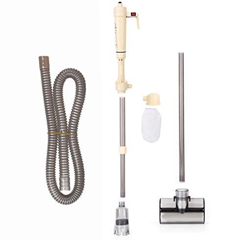 Zerone Acuario limpia, grava filtro agua filtro lavadora sifón vacío agua bomba eléctrica 520L/h para acuario pecera, altura ajustable 40-95cm: Amazon.es: ...
