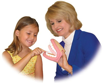 Jumbo Mighty Mouth Oral Motor Hand Puppet - Super Duper Educational Learning Resource for Children ()