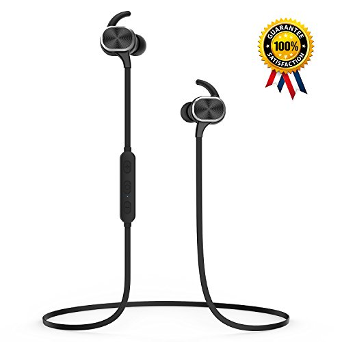 Price comparison product image [Newest Version] Senbowe™ Wireless Magnetic Bluetooth Earbuds,Wireless Bluetooth Headphones/Headset,In Ear Sweatproof Stereo Bluetooth Earphones / Earbuds with Mic for Sports / Gym / Running