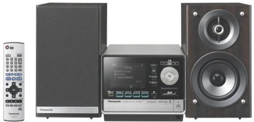 パナソニック SDステレオシステム D-dock CD/SD/80GB HDD搭載 木目 SC-SX800-M   B000BWPOU8