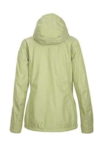 Hood Zip with Killtec Jacket Functional Women's Off Lineria Green Leaf nvnq06wP