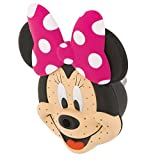 Oxygenics 78268 Minnie Mouse Fixed Shower head, Pink/Black