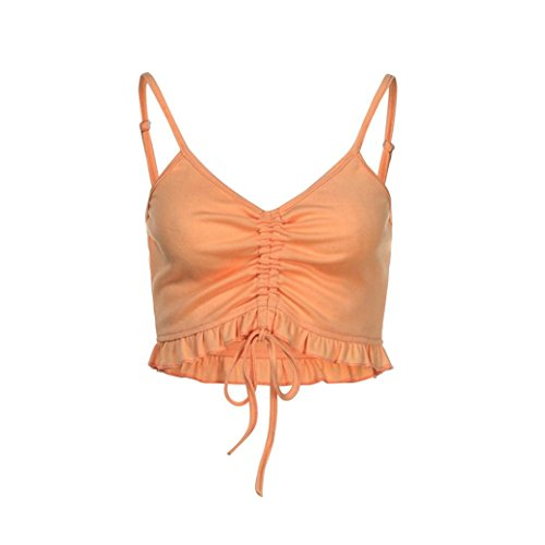 Shoulder Donna Sexy Abbigliamento Casual Vintage Eleganti Palestra Homebaby Maglietta Off Arancione Sportivo Top Sportivo Top Camicia Canottiere Magliette Estive Maglia Donna Elegante Corta 5ngOU4
