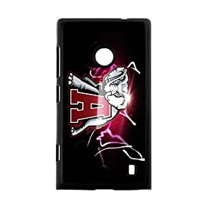 NCAA University Alabama Crimson Tide Case Cover for Nokia Lumia 520- Personalized Cell Phone Protective Hard case Shell