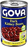 Goya Dark Kidney Beans Prime Premium 15.5 Oz. Pack Of 6.