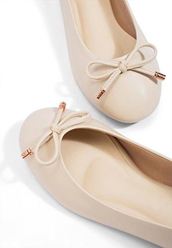Choo Ivory Mary Ballet Ms Flats Women's f8qwFP