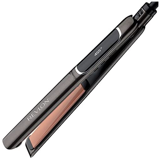 Revlon Salon Straight Copper + Ceramic Smooth Flat Iron, 1 inch - 41B32M8Z GL - Revlon Salon Straight Copper + Ceramic Smooth Flat Iron, 1 inch