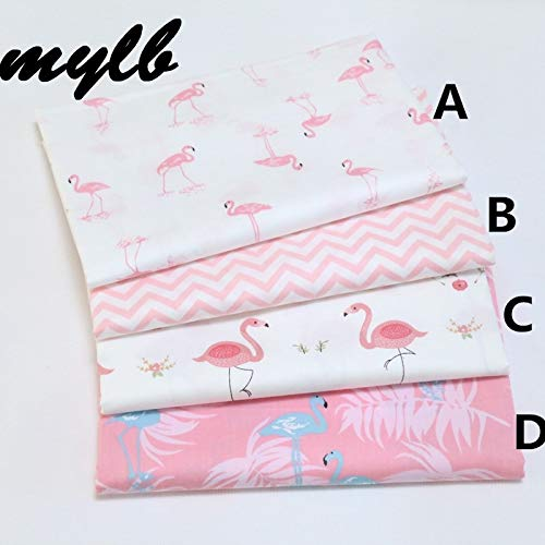 Fabric 160cm50cm Flamingo Infant Cotton Sewing Baby Cloth Quilting Kids Bedding Fabric Quilt Sewing
