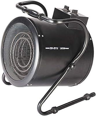 CtopoGo 3KW 220V Calentador de Ventilador eléctrico Calentador de ...