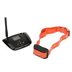 Touch Global Ltd.AT-216F Electronic Wireless Pet Training In-Ground Radio Fence System - Black