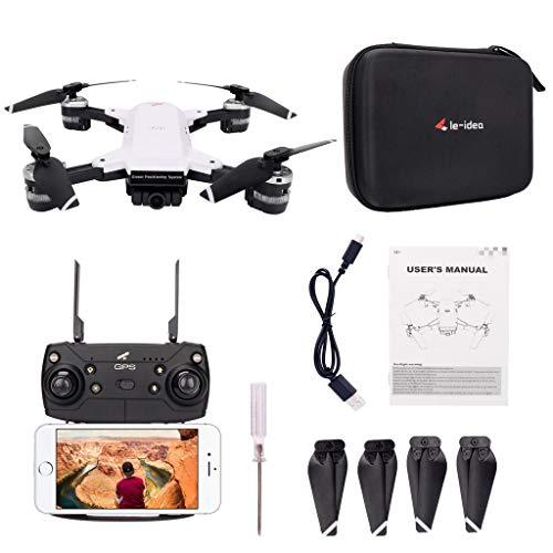Le-idea IDEA10 - Dron GPS plegable Ewendy con cámara WiFi 1080P ...