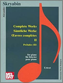 Book Preludes II (Music Scores)