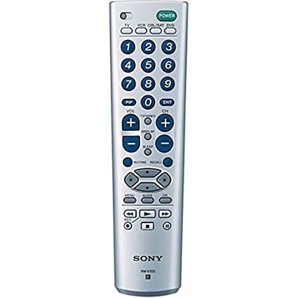amazon com sony rm v202 4 device universal remote commander rh amazon com Sony Remote Programming Codes For Bose Universal Remote Manual