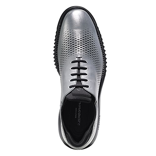 clearance amazing price buy cheap buy Cole Haan Men's 2.Zerogrand Laser Wing Oxford Silver-black bAVao