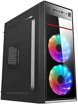 Caja del Ordenador y de la Torre Aurora USB 2.0 ZYS Caja de la computadora Principal del chasis 370x170x410mm M-ATX/ATX/Mini-ITX PC de Escritorio: Amazon.es: Electrónica
