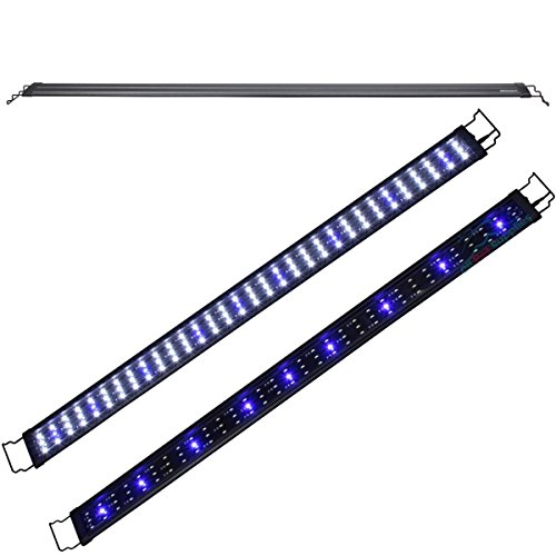 Kleanco Home It - LED Light 48'-60' 96XLEDs 0.5W White&Blue Aquarium Fish Tank Plant Marine FOWLR