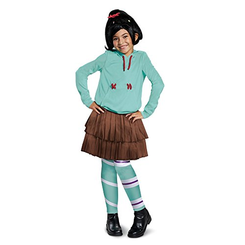 Disguise Vane Lope Deluxe Child Costume, Green, Large/(10-12) -
